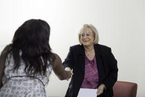 Older job applicant