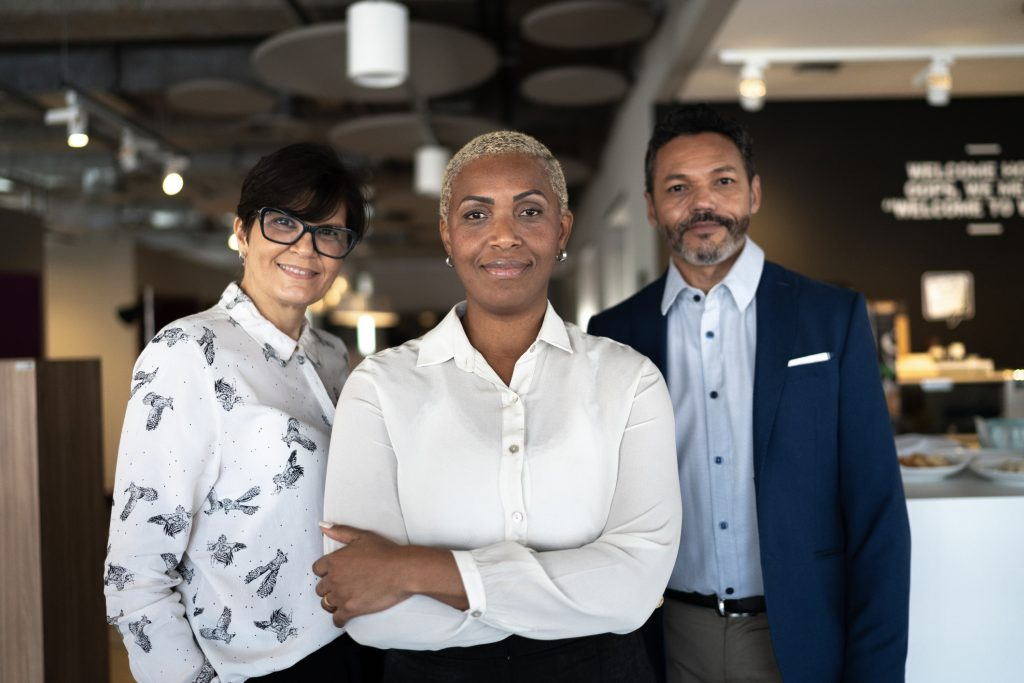 older business team